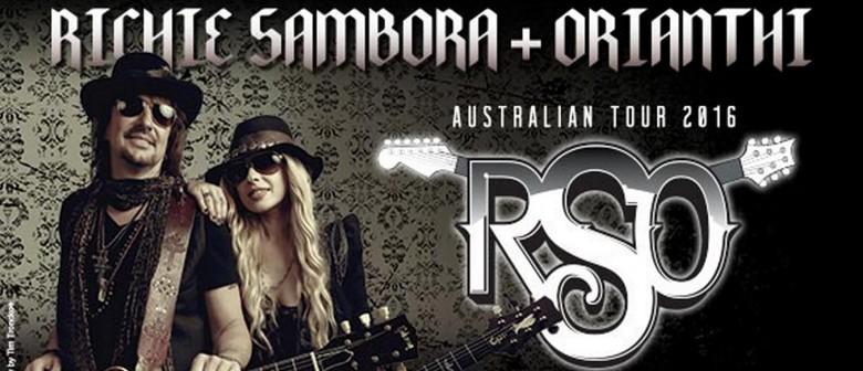 RSO - Richie Sambora and Orianthi Australian Tour 2016