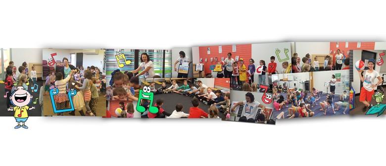 Children's Music Games Workshops - September Holidays 2016