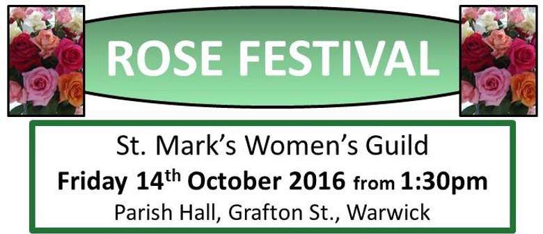 St. Mark's Women's Guild 54th Rose Festival