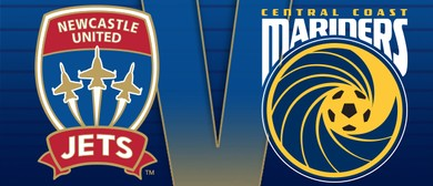 Newcastle Jets V the Central Coast Mariners