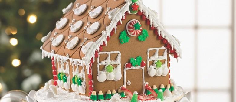 Christmas Gingerbread House.Christmas Gingerbread House