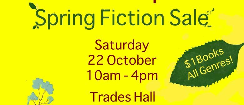 New International Bookshop Spring Fiction Sale