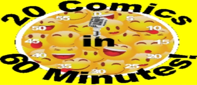 20 Comics in 60 Minutes Christmas Laugh-A-Thon