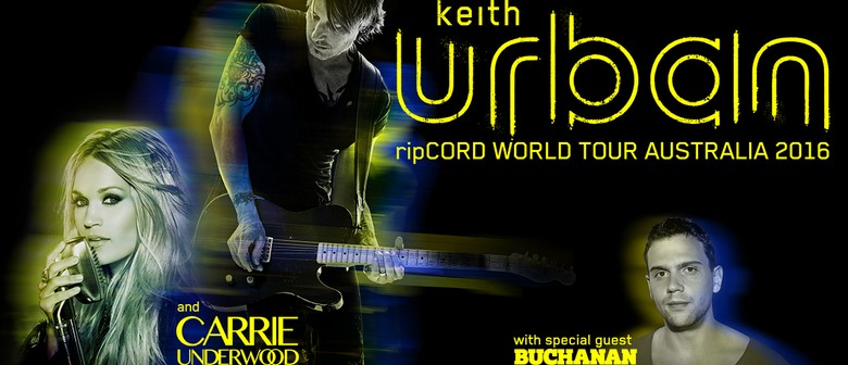 Buchanan Support Keith Urban and Carrie Underwood