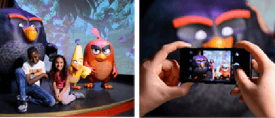 Angry Birds Fly for A Starring Role