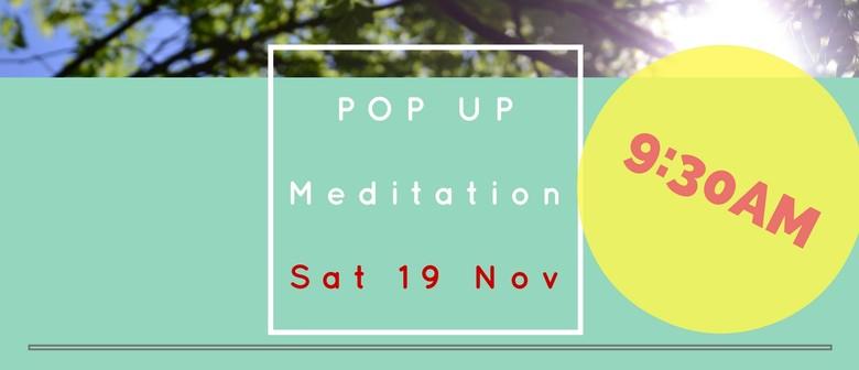 Pop Up Meditation