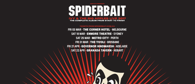 Spiderbait - Ivy and the Big Apples Tour 2017