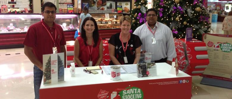 Salvos Santa Stocking Appeal