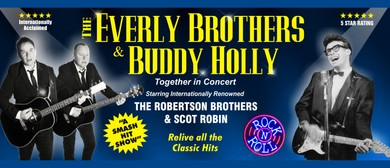 The Everly Brothers and Buddy Holly