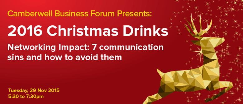 2016 Christmas Drinks