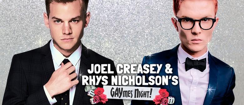 Joel Creasey and Rhys Nicholson's Gaymes Night