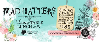 Mad Hatter's Long Table Lunch 2017