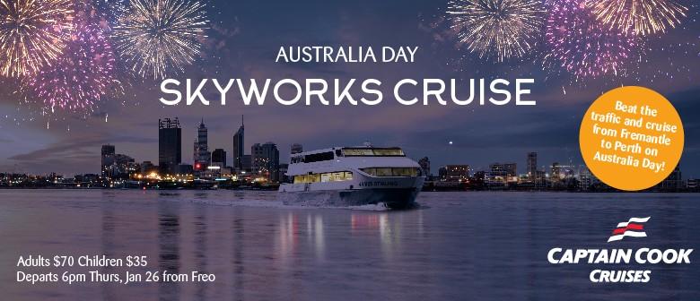 Australia Day Skyworks Cruise