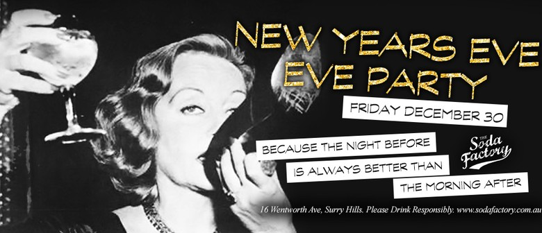 New Year's Eve Eve Party