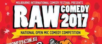 Raw Comedy 2017 – Heat 6