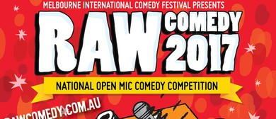 Raw Comedy 2017 – Heat 8