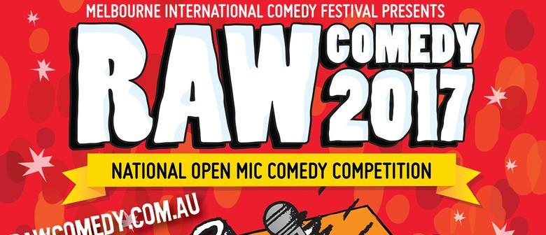 Raw Comedy 2017 – Heat 9