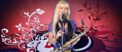 Lisa Stewart On Sax