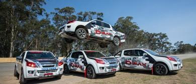Team D-Max Stunt Driving