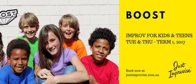 Boost – Improv for Teens 13-17 Years