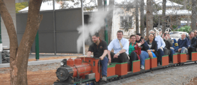 Miniature Steam Train Running Day