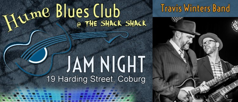 Blues Jam Night Featuring Travis Winters Band