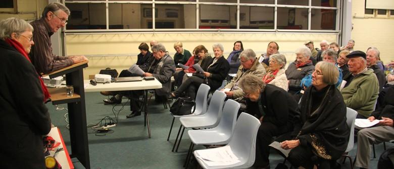 History Speaker Society Meeting
