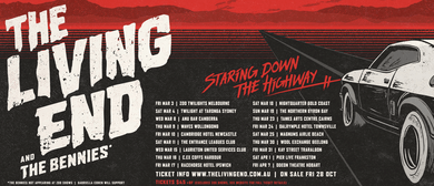 The Living End – Staring Down the Highway Regional Tour