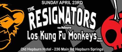 The Resignators and Los Kung Fu Monkeys