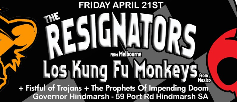 The Resignators and Los Kung Fu Monkeys