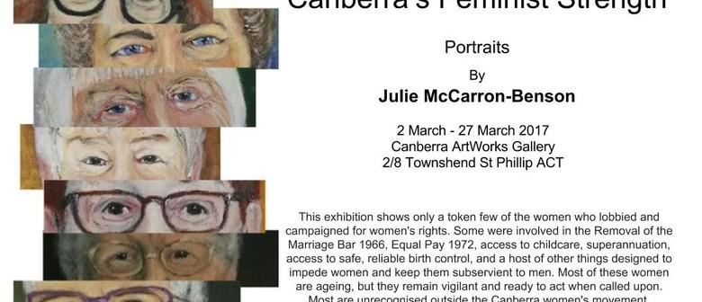 Canberra's Feminist Strength Portrait Exhibition