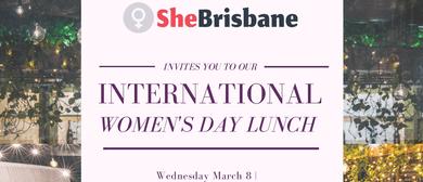 SheBrisbane's International Women's Day Lunch