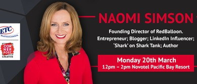 ETC Business Leaders Lunch With Naomi Simson
