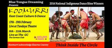 Adelaide Fringe – Koomurri Aboriginal Dreaming