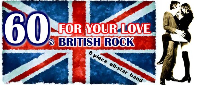 Adelaide Fringe – For Your Love – 60s British Rock Tribute
