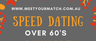 Over 60's Speed Dating