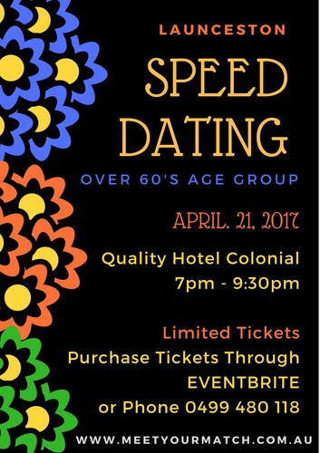 Mature Speed Dating London