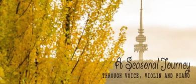 A Seasonal Journey Through Voice, Violin and Viola