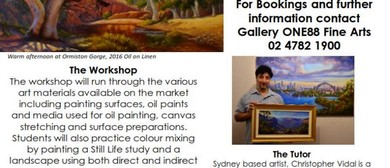 Oil Painting Best Practices Know Your Tools Workshop