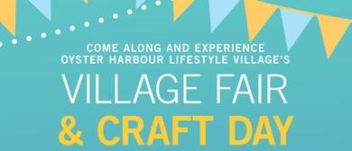 Village Fair and Craft Day