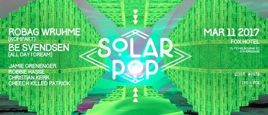 Solar Pop Feat. Robag Wruhme and Be Svendsen
