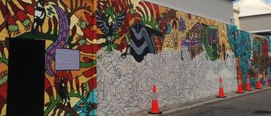 Make Your Mark – Mural Painting, Mel McVee