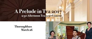 Thoroughbass – Young Handel – A Prelude In Tea Concert