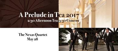 Nexas Quartet – Composers In Exile – Prelude In Tea Concert