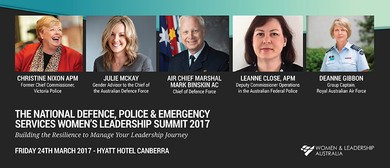 Defence, Police and Emergency Services Women's Summit