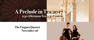 The Enigma Quartet and Riley Lee – Prelude In Tea Concert