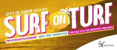 Surf On Turf – Pop Up Beach Playground