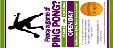 Ping Pong Open Day