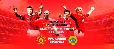 Manchester United Legends Vs PFA Aussie Legends