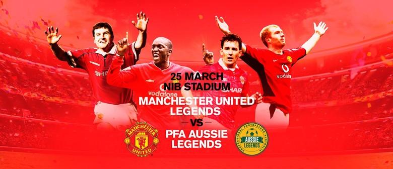 Manchester United Legends Vs PFA Aussie Legends
